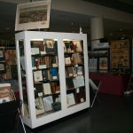 Our booth at a past show.