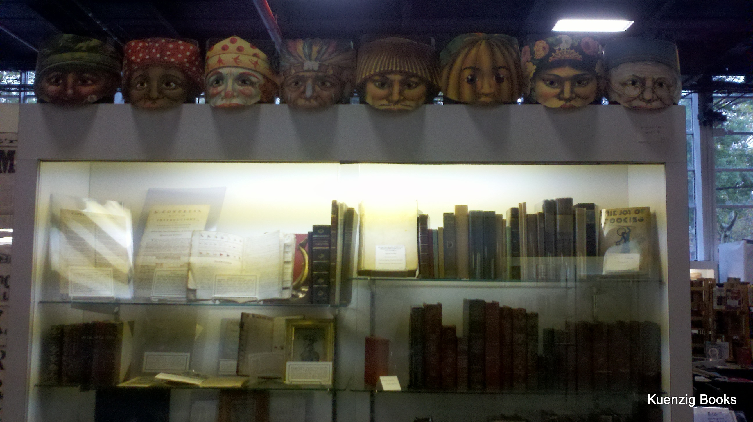 Bartleby's Books: Halloween masks.